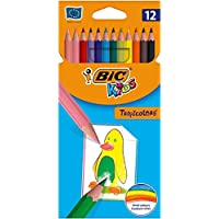 BIC Kids Tropicolors Kuru Boya Kalemi 12 Renk