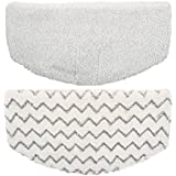 Washable Microfiber Mop Pads Replacement for Bissell Powerfresh 1940 Series Steam Mop (2 Packs)