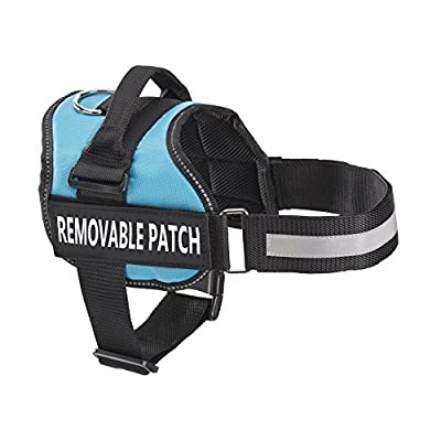 Therapy Dog Vest Harness, Service Dog Vest with 2 Reflective THERAPY DOG Patches, by Industrial Puppy