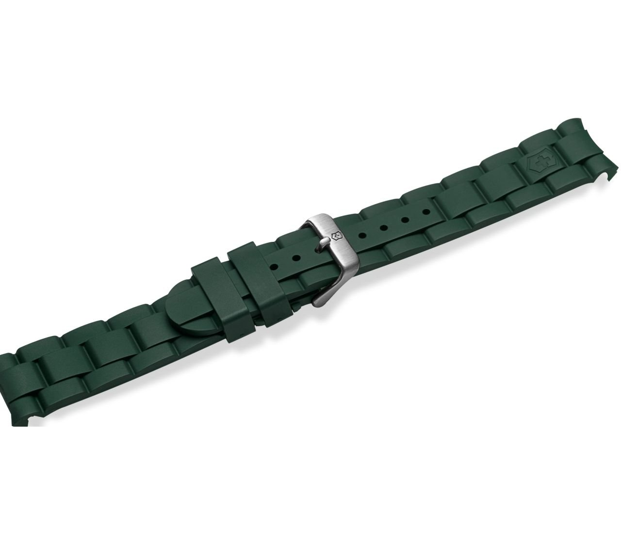 Swiss Army Green Rubber Strap for the Maverick GS