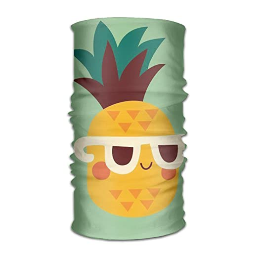 Cool Pineapple Wear Sunglassnice Variety Scarf Head Scarf Scarves