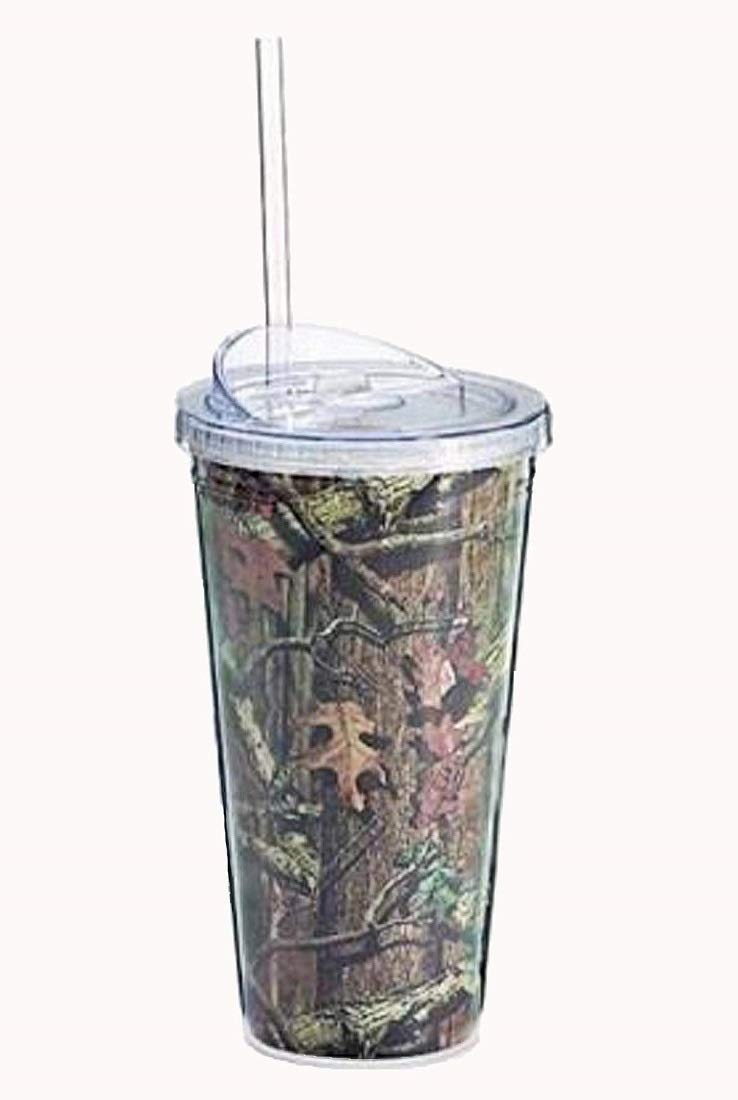 Mossy Oak Camouflage 20 Oz Travel Mug tumbler Hunters Great for Hunters tumbler by Burton & Burton 6da38f