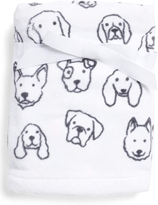 Digital Dogs Faces Puppies Dog Cotton Curtain Fabric Quilting Cushions Craft