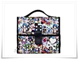 Tokidoki Beach Theme Hanging Travel /Makeup Bag ASSORTED IMAGES