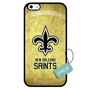 (TCustomized NFL New Orleans Saints Team Logo Design PC Case For Iphone 5C Cover Case CovBlack 01