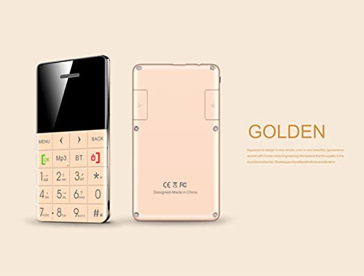 amazon com qmart q5 mini ultra thin card cell phone 0 96 oled rh amazon com