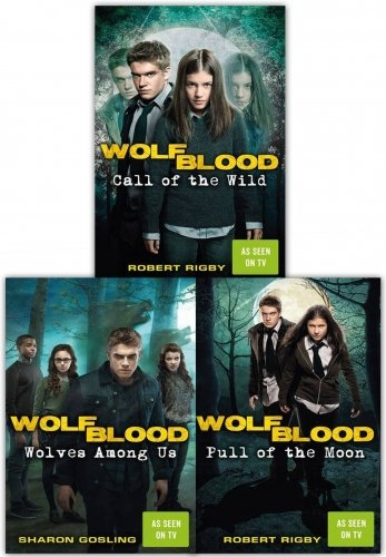 Price comparison product image Wolf blood 3 Books Collection Set As Seen On BBC By Sharon Gosling and Robert Rigby (Pull of the Moon,  Call of the Wild,  Wolves Among Us)