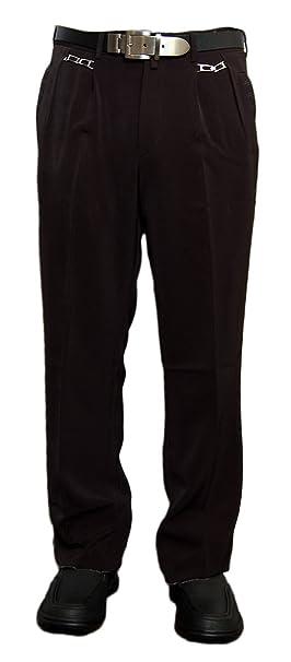 No Uno - Pantalón de Traje - con Pinzas - Básico - para ...