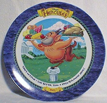 (Phil - Hercules - McDonald's 1997 Disney Collector Plate)