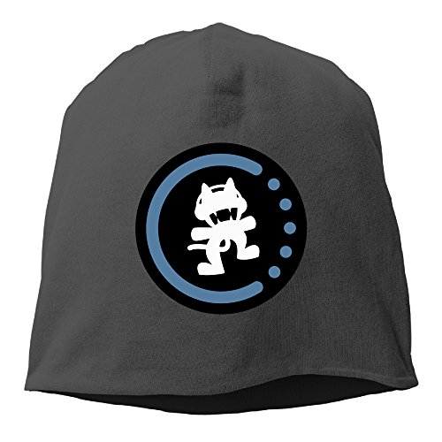 Caromn Monstercat Logo Beanies Skull Ski Cap Hat Black