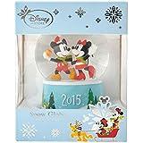 【 ディズニー 公式 】 2015 クリスマス 限定 スノードーム  ミッキー & ミニー ( Disney プレゼント ギフト  グッズ )正規品
