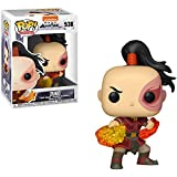 Funko Zuko: Avatar - The Last Airbender x POP! Animation Vinyl Figure & 1 POP! Compatible PET Plastic Graphical Protector Bundle [#538 / 36466 - B]