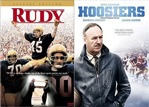 Classic Sports Gems: RUDY/HOOSIERS 2 DVD David Anspaugh Double ()