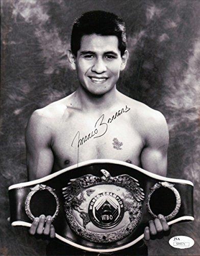 Marco Antonio Barrera Signed Autographed 8X10 Photo Vintage w/Belt JSA - Athlete Shop Contact Number