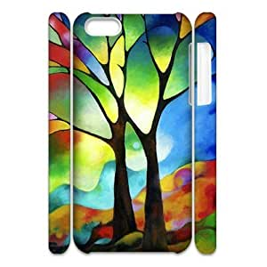 linJUN FENGLove Tree Brand New 3D Cover Case for iphone 5/5s,diy case cover ygtg595459