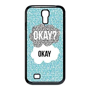 Season.C-Custom The Fault In Our Stars Back For Case Samsung Galaxy S4 I9500 Cover (Black)