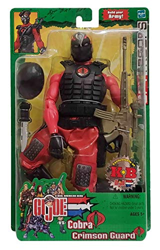 G.I. Joe vs. Cobra: Spy Troops - Cobra Crimson Guard Infantry 12 Inch Action Figure 1/6 Scale (KB Toys Exclusive)