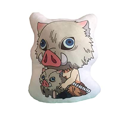 Quero Jom91 Anime Demon Slayer Pillow Doll Cosplay Cartoon Soft Stuffed Cotton Doll(3): Home & Kitchen