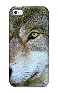 New Arrival Cover Case With Nice Design For Iphone 5c- Wolves