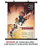Best Poster Of The 80s Dvds - The Goonies 80s Movie Fabric Wall Scroll Poster Review