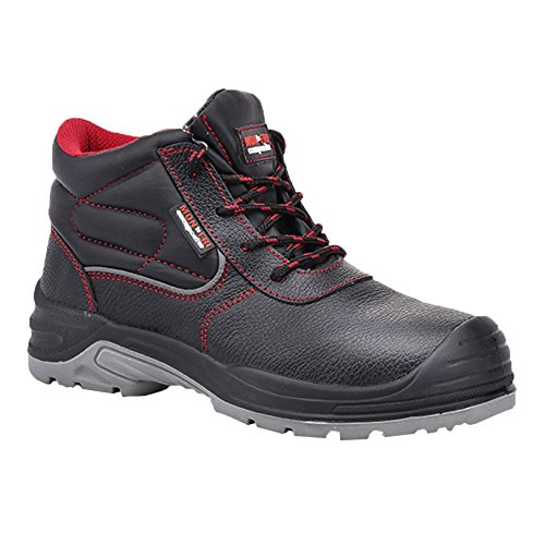 Paredes sm5040NE39Extreme–Zapatos de seguridad S3talla 39NEGRO/ROJO