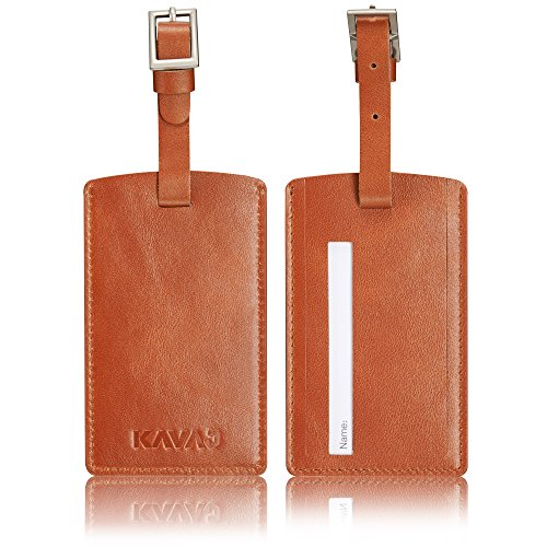 Luggage Australia Tag (KAVAJ leather luggage tag