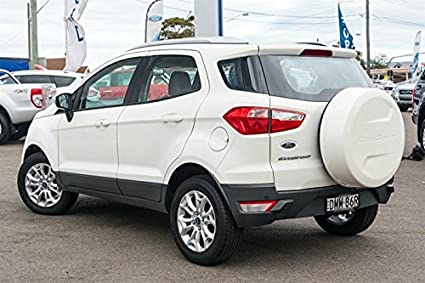 Rlc Spare Wheel Cover For Ford Ecosport Diamond White