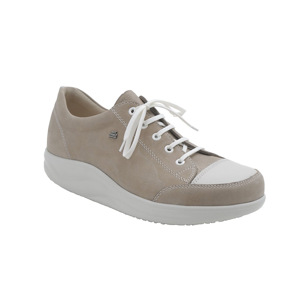 Finn Comfort Ikebukuro Womens Sandals, Taupe/Jasmin Equipe/Okapi, Size - 7
