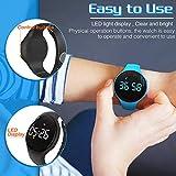 synwee Kids Led Pedometer Watch, Digital Steps