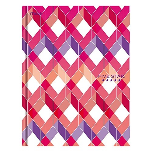 "Five Star Composition Book / Notebook, College Ruled Paper, 100 Sheets, 9-7/8"" x 7-1/2"", Hardbound, Design Will Vary (09274)"