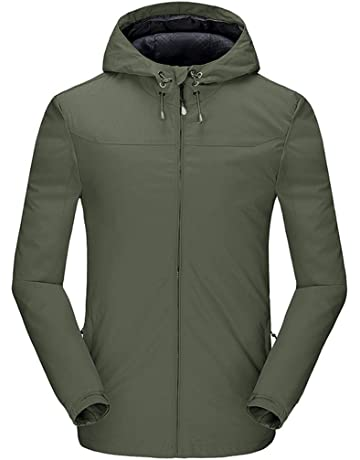 The Arctic Light Womens Winter Outdoor Camping Hiking Fleece Jacket Skiing Female 2 Pieces Water Repellent Thermal Hooded Coat Skiing Jackets Sports & Entertainment
