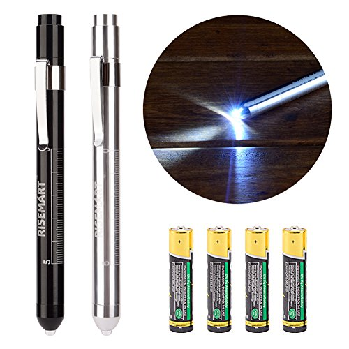 Silver Pen Light - 9