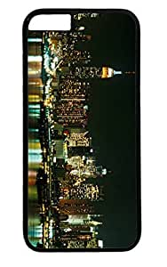 Building New York City Skyline Nice PC Black Case for Masterpiece Limited Design iPhone 6 plus by Cases & Mousepads