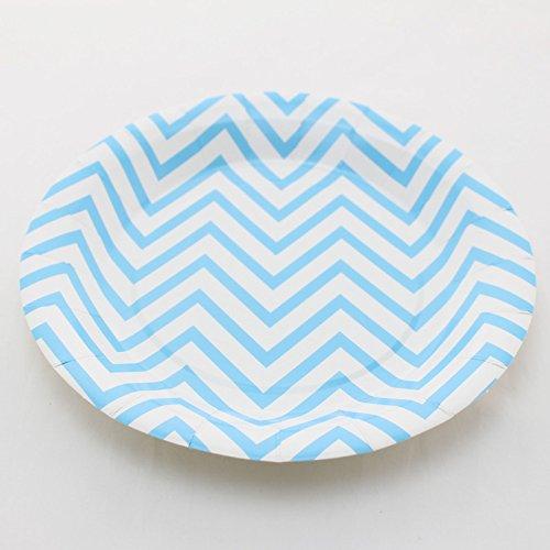 100% Biodegradable Swirly Twirly Paper Plates 7