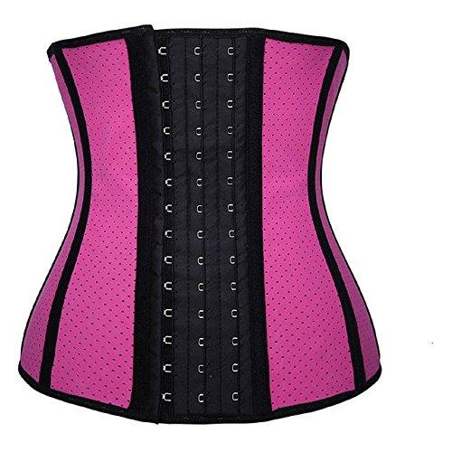 Waist Corset Body Shaper (Pink) - 6