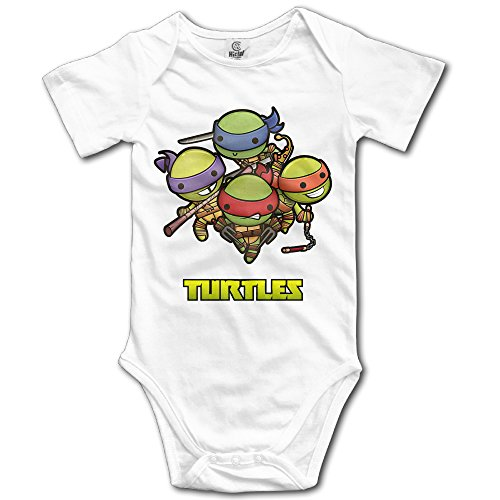 [Ogbcom Baby's Teenage Mutant Ninja Turtles Hanging Bodysuit Romper Playsuit Outfits Clothes Climbing Clothes Short Sleeve] (Ninja Suits For Sale)