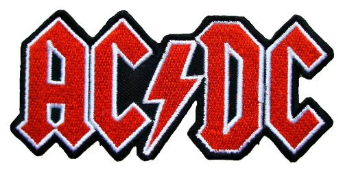 AC DC ACDC Rock Band t Shirts Logo MA27 Embroidery iron on Patches (Best Rock Band Logos)