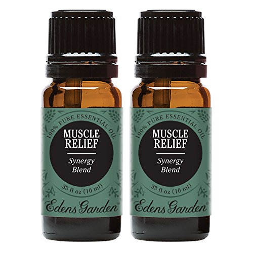 Edens Garden Muscle Relief Value Pack Synergy Blend 100% Pure Undiluted Therapeutic Grade GC/MS Certified Essential Oil