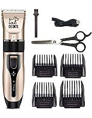 ماكينة حلاقة كهربائية لقص الشعر للكلاب والقطط والأرانب من ديكيل بت لقص الشعر - قابلة لإعادة الشحن - بدون أسلاك - قابلة لإعادة الشحن