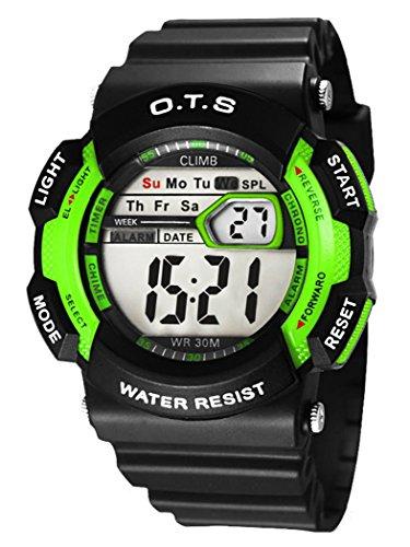 Armbanduhr kinder digital  O.T.S Kinder Jungen Digital Armbanduhr Kinderarmbanduhr ...