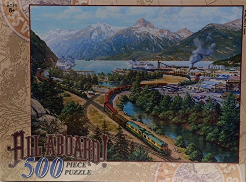 "UPC 801342072102, White Pass and Yukon Route ""Skagway, Alaska"" 500 Piece Puzzle"