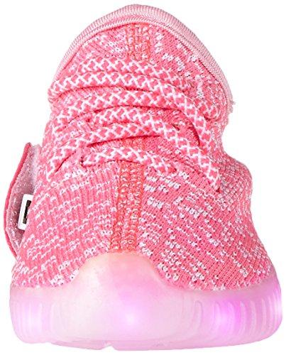 iisport- 7 Led Colorati Scarpe Sportive Unisex da Bambini Bimbi Ragazza Ragazzi sneaker Sport Sneaker Tennis Regali Originali Compleanno Natale Party Festa Discoteca Ballo