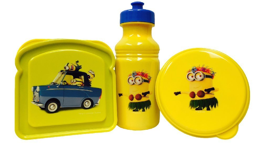 Despicable Me Minion Lunch To-go Set