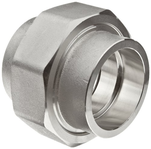 316/316L Forged Stainless Steel Pipe Fitting, Union, Socket Weld, Class 3000, 1-1/4