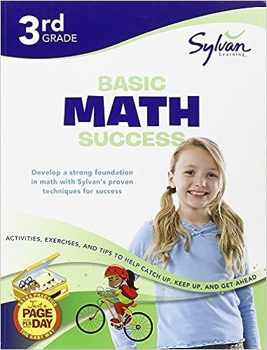 Third Grade Basic Math Success (Sylvan Workbooks) (Sylvan Math ...