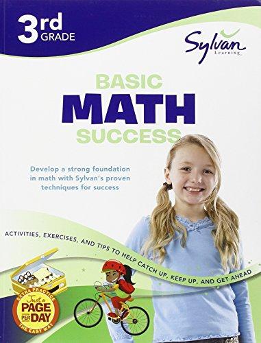 Third Grade Basic Math Success (Sylvan Workbooks) (Sylvan Math Workbooks)