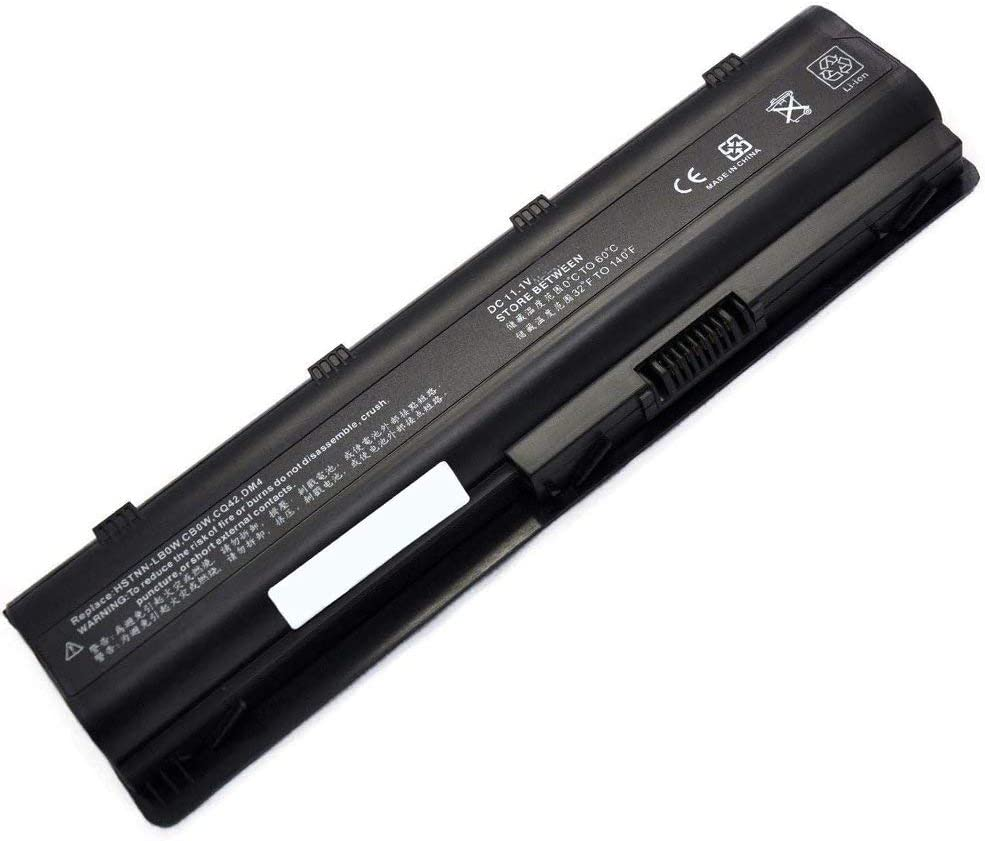 YNYNEW Replacement Laptop Battery for HP Pavilion DV6-6B26US DV6-6B47DX DV6-6C52EO DV6-6C52SF DV6-6C53CL DV7-6C60US DV6-6B75CA DV6-6183NR DV6-6185NR DV6-3030US DV6-3037SB DV6-3163CL MU06XL