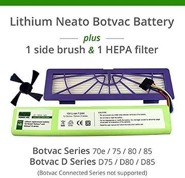 12V 3600mAh Akku für Neato Botvac 75,80,85,945-0129,D75,D7500,D80,D85,205-0012