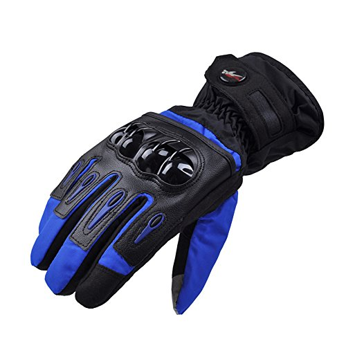PRO-BIKER Waterproof Full Finger Gloves Moto Motorcycle Gloves Windproof Motorbike Glove Luvas Cycling Racing Sport Guantes de la motocicleta