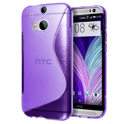 Cimo [FLEX GEL] HTC One M8 Case Premium TPU Ultra Slim Fit Cover for The All New HTC (Htc One M8 Premium Case)
